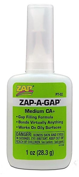 Picture for category ZAP CA Adhesives (Super Glues)