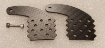 Picture of 1/4 scale and up Carbon Fiber Live Hinge Set for Flaps